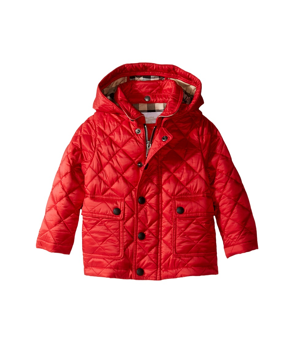 Burberry Kids - Quilted A-Line Jacket (Infant/Toddler) (B...