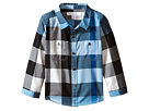 Burberry Kids Twill Check Shirt (Infant/Toddler)