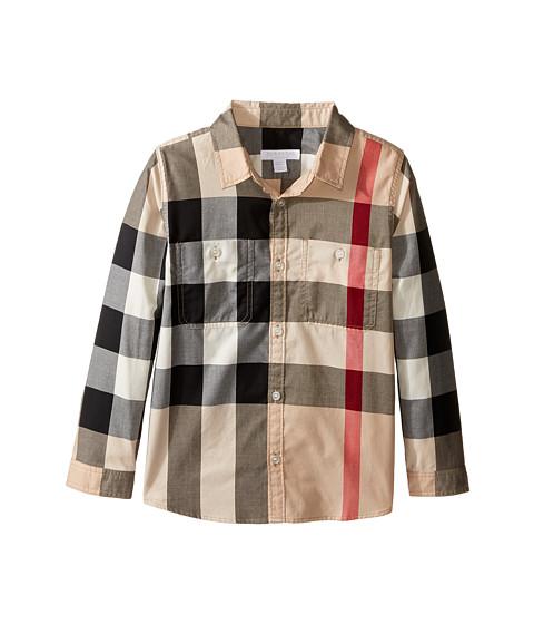 Burberry Kids Two-Pocket Check Shirt (Little Kids/Big Kids)