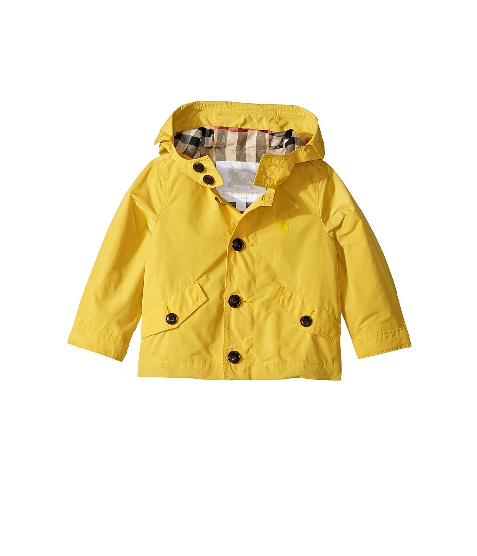 Burberrys Kids - Packaway Parka (Infant/Toddler) (Pale Sa...