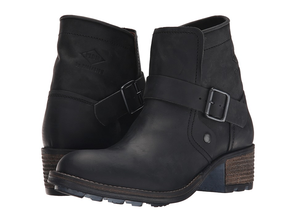 PLDM Chester Black Womens Pull on Boots
