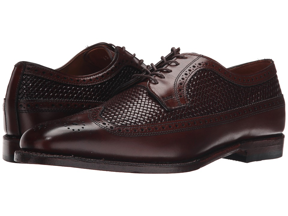 Allen-Edmonds Leiden (Dark Chili Weave/Dark Chili Burnished Calf) Men