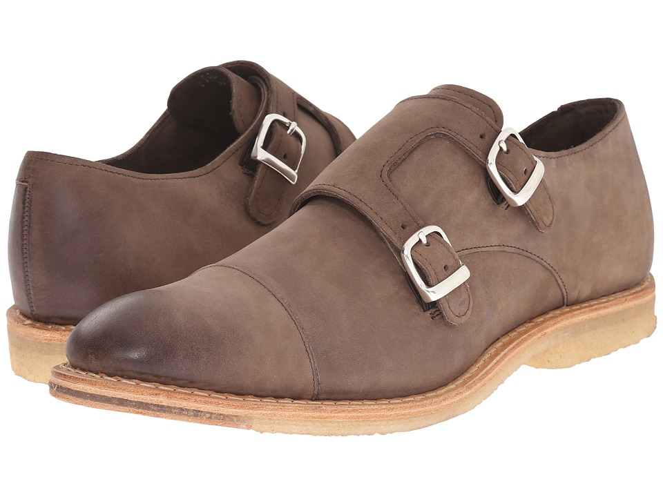 Allen Edmonds Newberg Chocolate Nubuck Mens Shoes