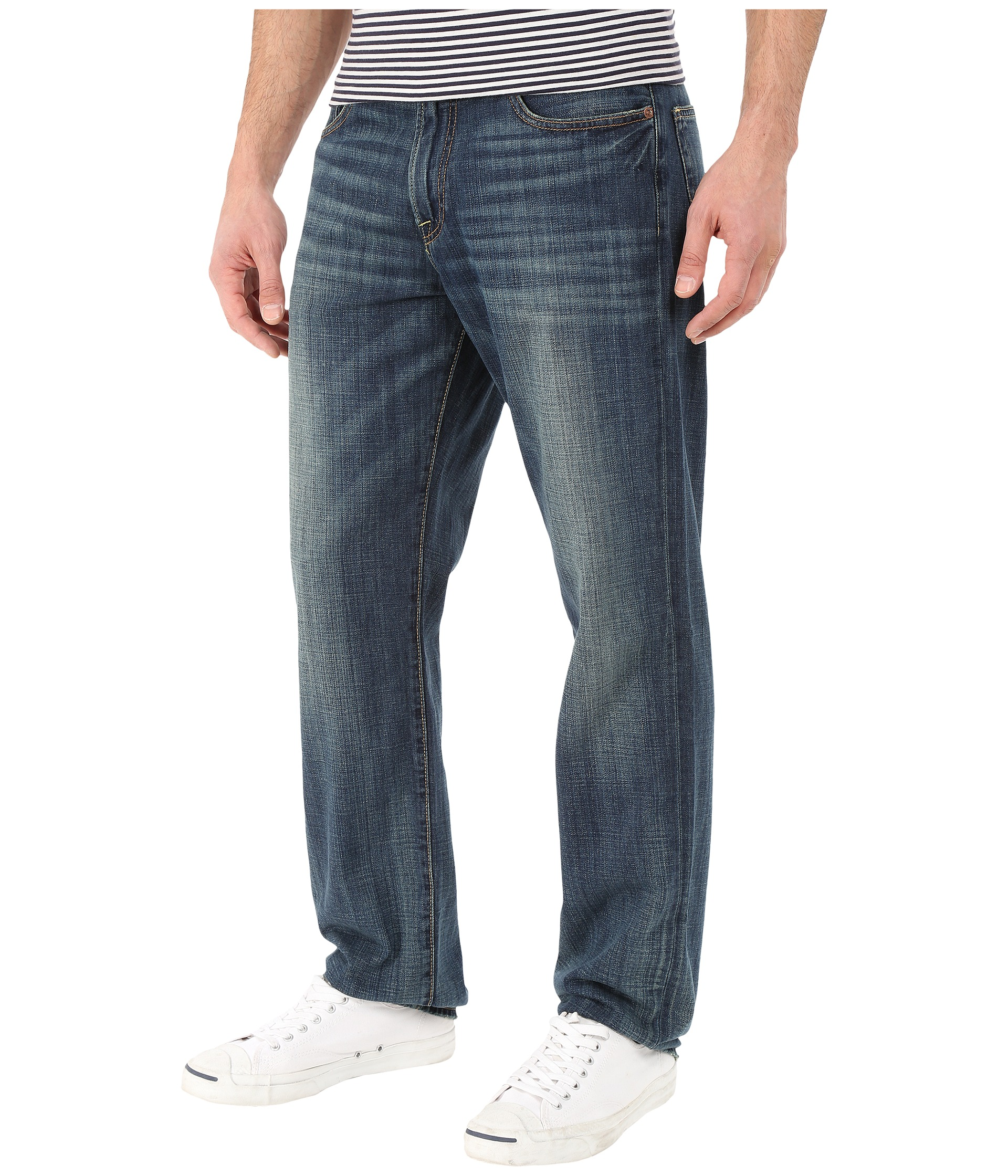 Lucky Brand 221 Original Straight Jeans in OL Wilder Ranch