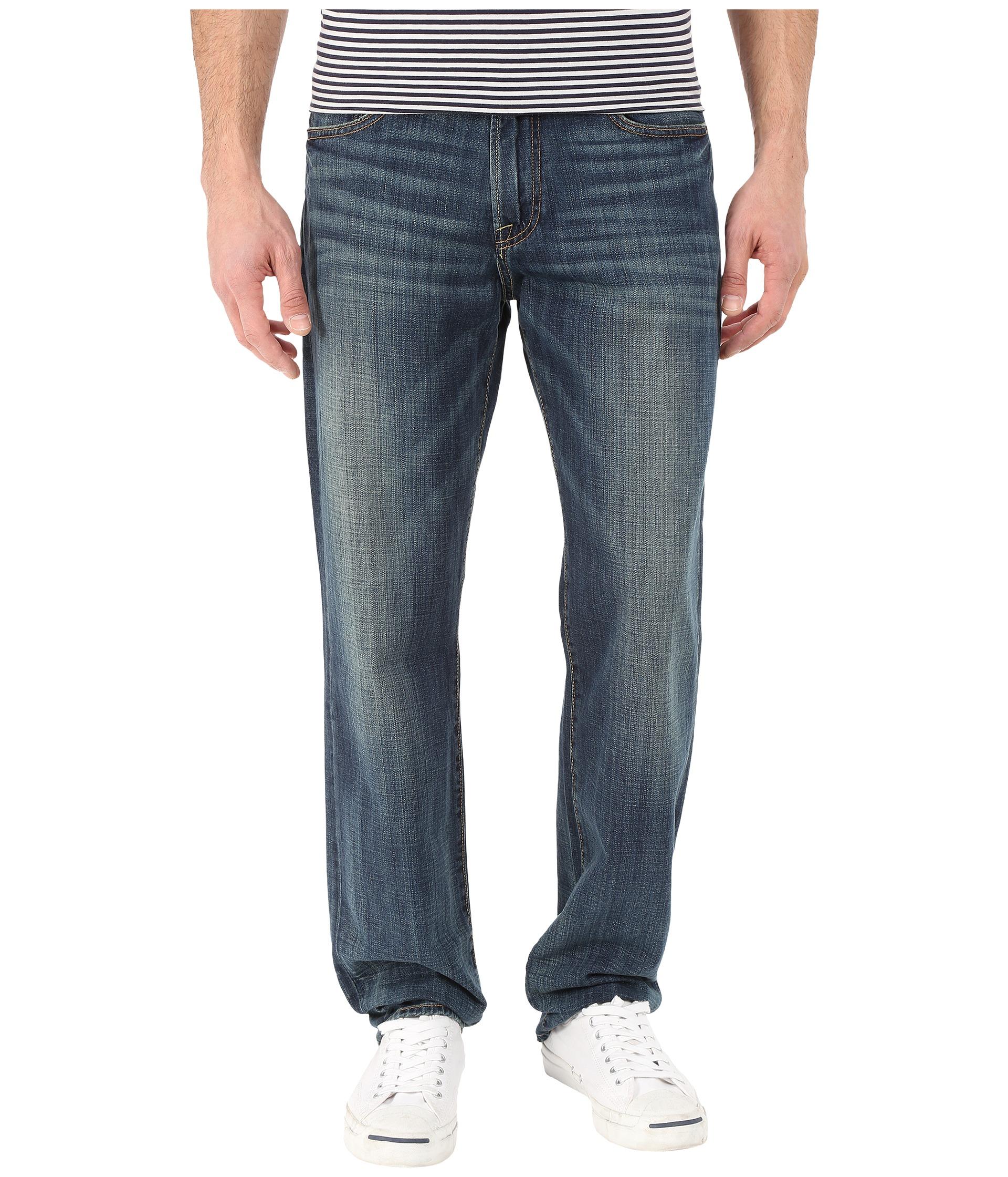 Lucky Brand 221 Original Straight Jeans in OL Wilder Ranch Ol Wilder Ranch