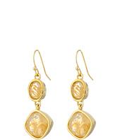 Cole Haan - Double Drop Stone Earrings