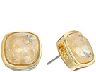 Cole Haan Cushion Cut Stud Earrings