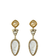 Cole Haan - Triple Drop Stone Drama Earrings
