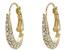 Cole Haan - Small Pave Oval Hoop Earrings
