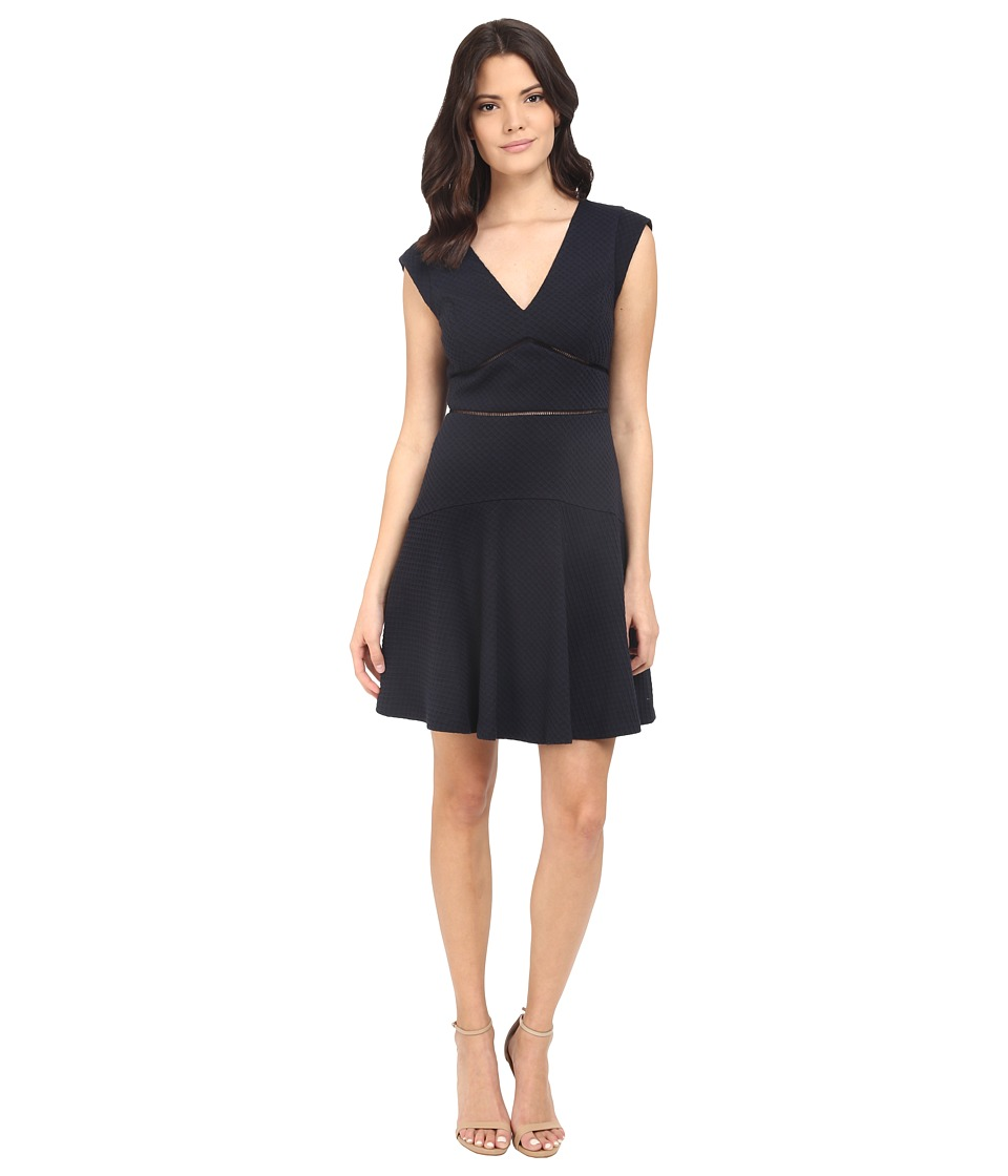 Rebecca Taylor - Taylor Dress (Navy) Womens Dress