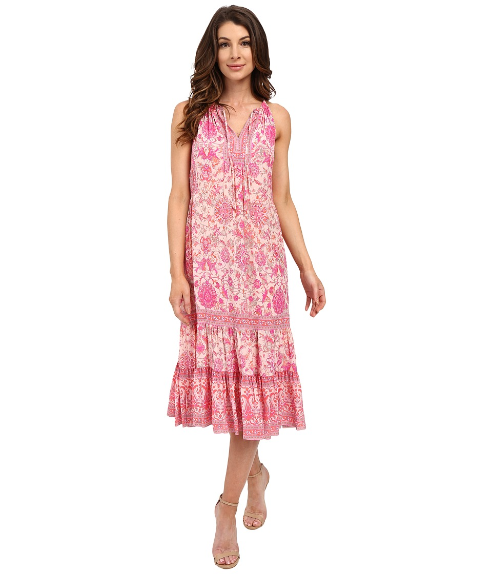 Rebecca Taylor Sleeveless Dreamweaver Maxi Dress Powder Pink Womens Dress