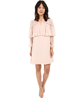 Rebecca Taylor - Long Sleeve Mirror Eyelet Dress