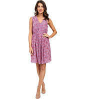 Rebecca Taylor - Sleeveless Shibori V-Neck Dress
