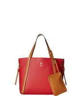 U.S. POLO ASSN. - Greenwich Color Block Mixed Media Tote