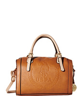 U.S. POLO ASSN. - Billy Signature Logo Embossed Satchel