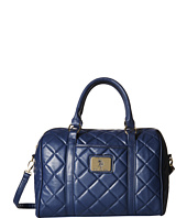 U.S. POLO ASSN. - Alex Quilted Satchel with Logo Patch