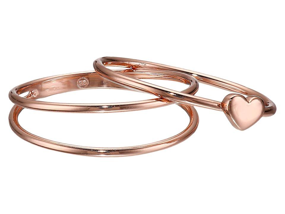 gorjana Carina Midi Ring Rose Gold Ring