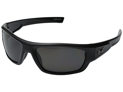 Under Armour UA Force - Storm ANSI Satin Black/Black Frame/Gray Polarized Lens