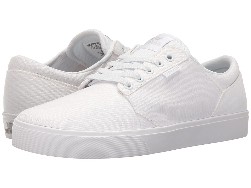 Supra Yorek Low (White/White) Men
