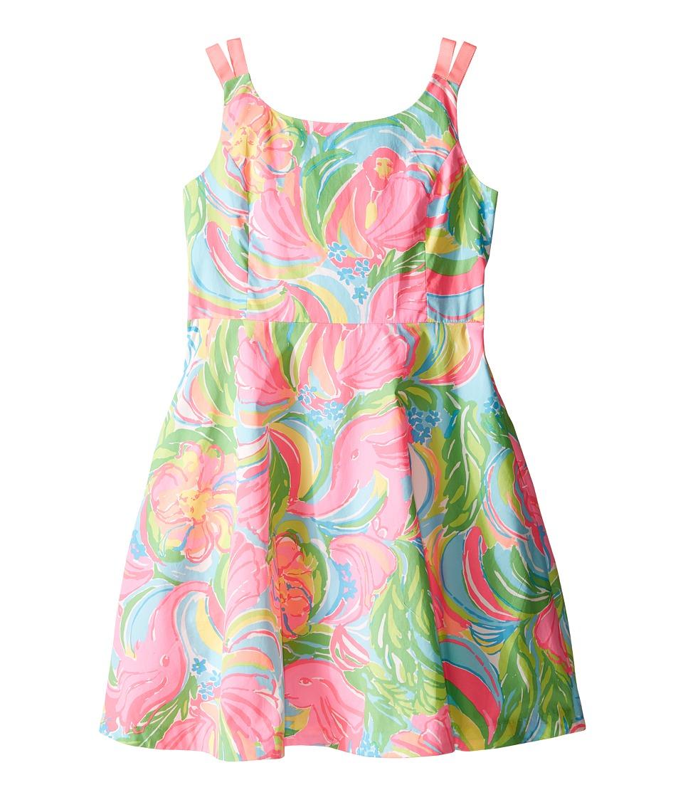 Lilly Pulitzer Kids Charlie Dress Toddler/Little Kids/Big Kids Multi So A Peeling Girls Dress