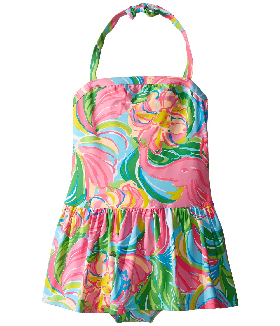 Lilly Pulitzer Kids Carla Swimsuit Toddler/Little Kids/Big Kids Multi So A Peeling Girls Swimsuits One Piece