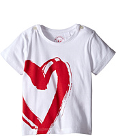 Burberry Kids - Short Sleeve Heart Print Tee (Infant/Toddler)
