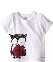 Burberry Kids - Short Sleeve Owl Print Tee (Infant/Toddler)