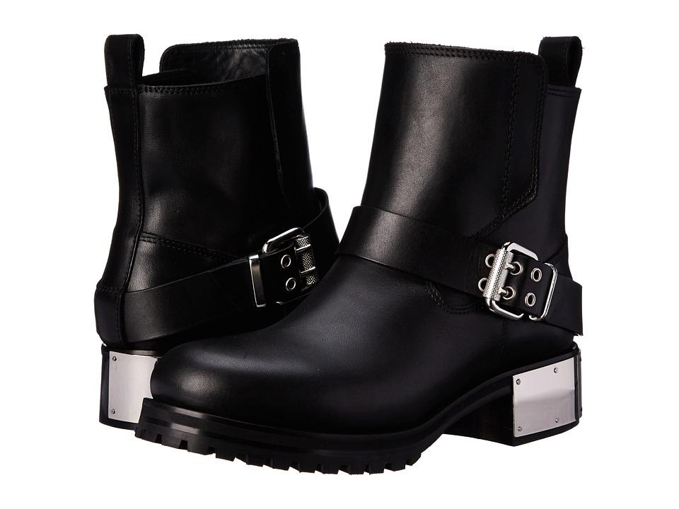 McQ Broadway Flat Black Womens Flat Shoes