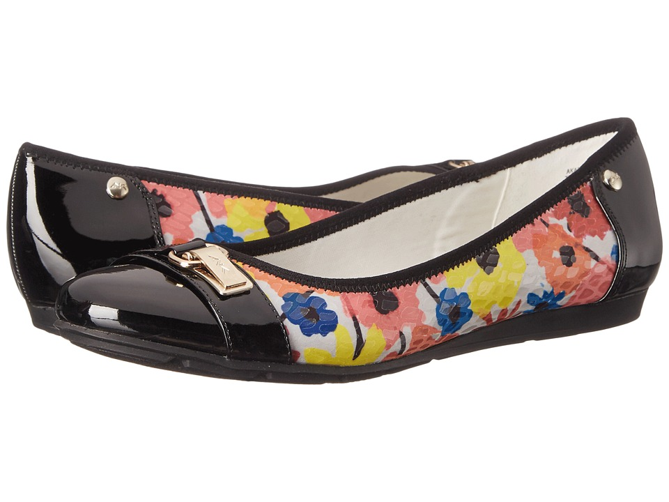 Anne Klein Able Pink Multi Fabric Womens Slip on Shoes