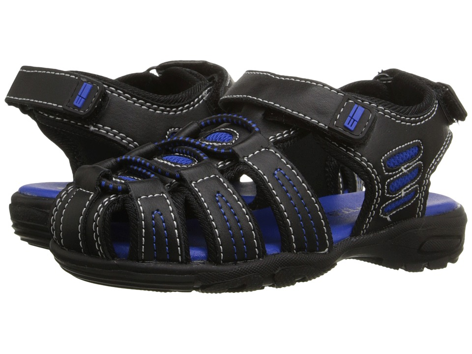 Elements by Nina Kids Gavin Toddler/Little Kid/Big Kid Black Boys Shoes