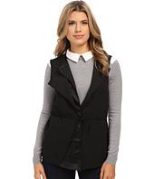 Olive & Oak - Asymmetrical Woven Soft Vest