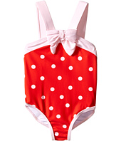 Kate Spade New York Kids - Polka Dot Ruffle One-Piece (Infant)