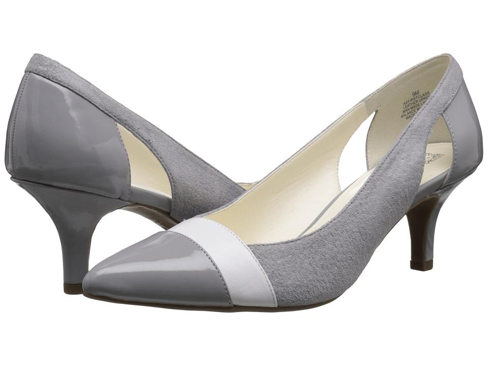 Anne Klein Firstclass (Gray Leather) Women