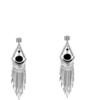 French Connection - Metal Fringe Chandelier Earrings