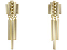 French Connection Pyramid Stud Linear Chandelier Earrings