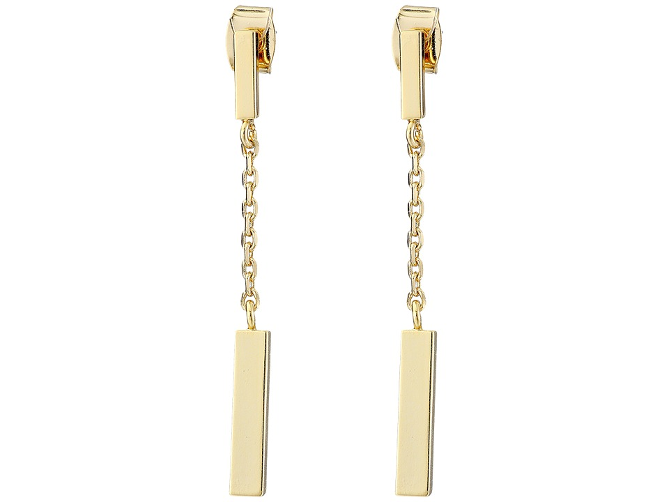 French Connection - Rectangle Bar Drop Earrings