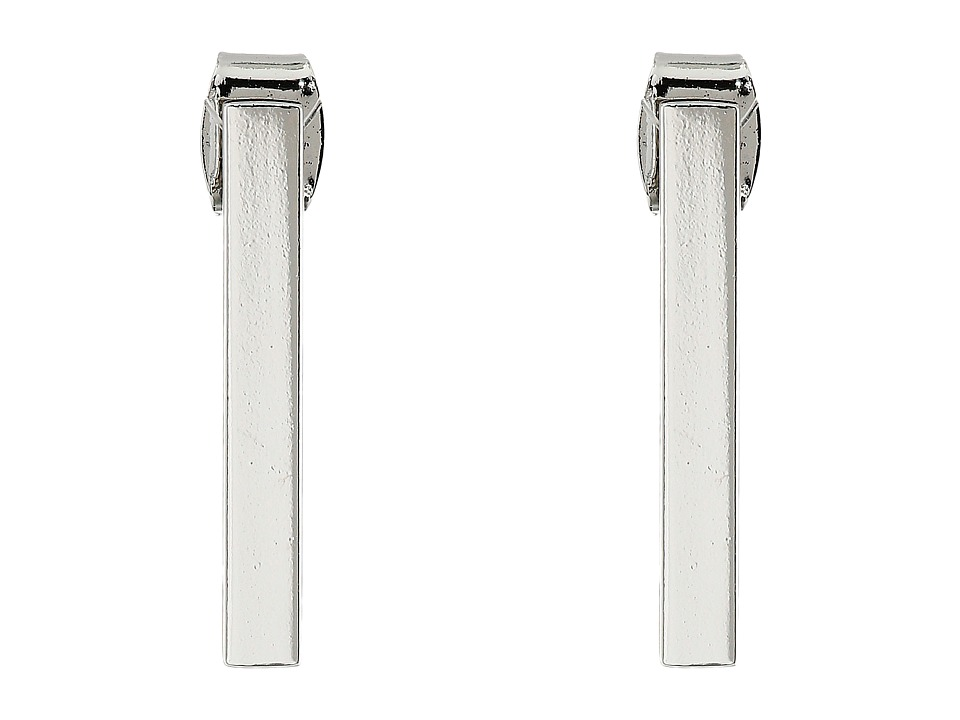 French Connection - Rectangle Bar Stud Earrings