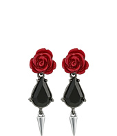 French Connection - Rose & Dagger Drop Earrings