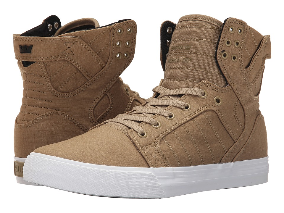 Supra Skytop D Kelp/White Mens Skate Shoes