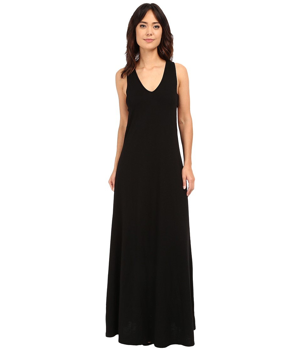 Lanston Cut Out Maxi Dress Black Womens Dress