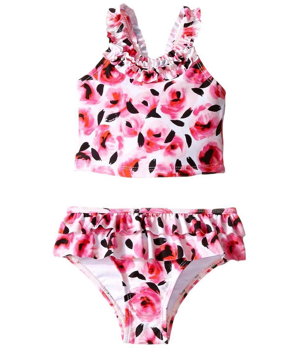 Kate Spade New York Kids Rose Ruffle Tankini Infant Rosebud Girls Clothing
