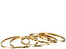 Ultra Thin Band Midi Ring Set