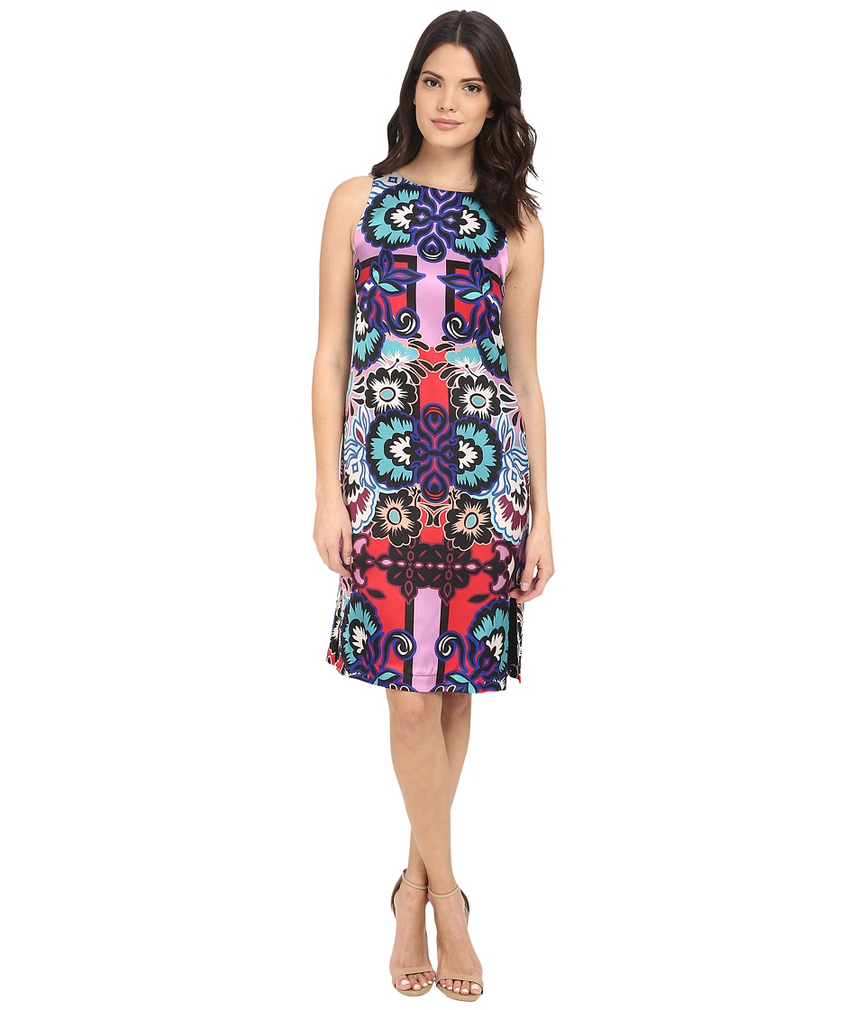 Nanette Lepore Oasis Dress Red Multi Womens Dress
