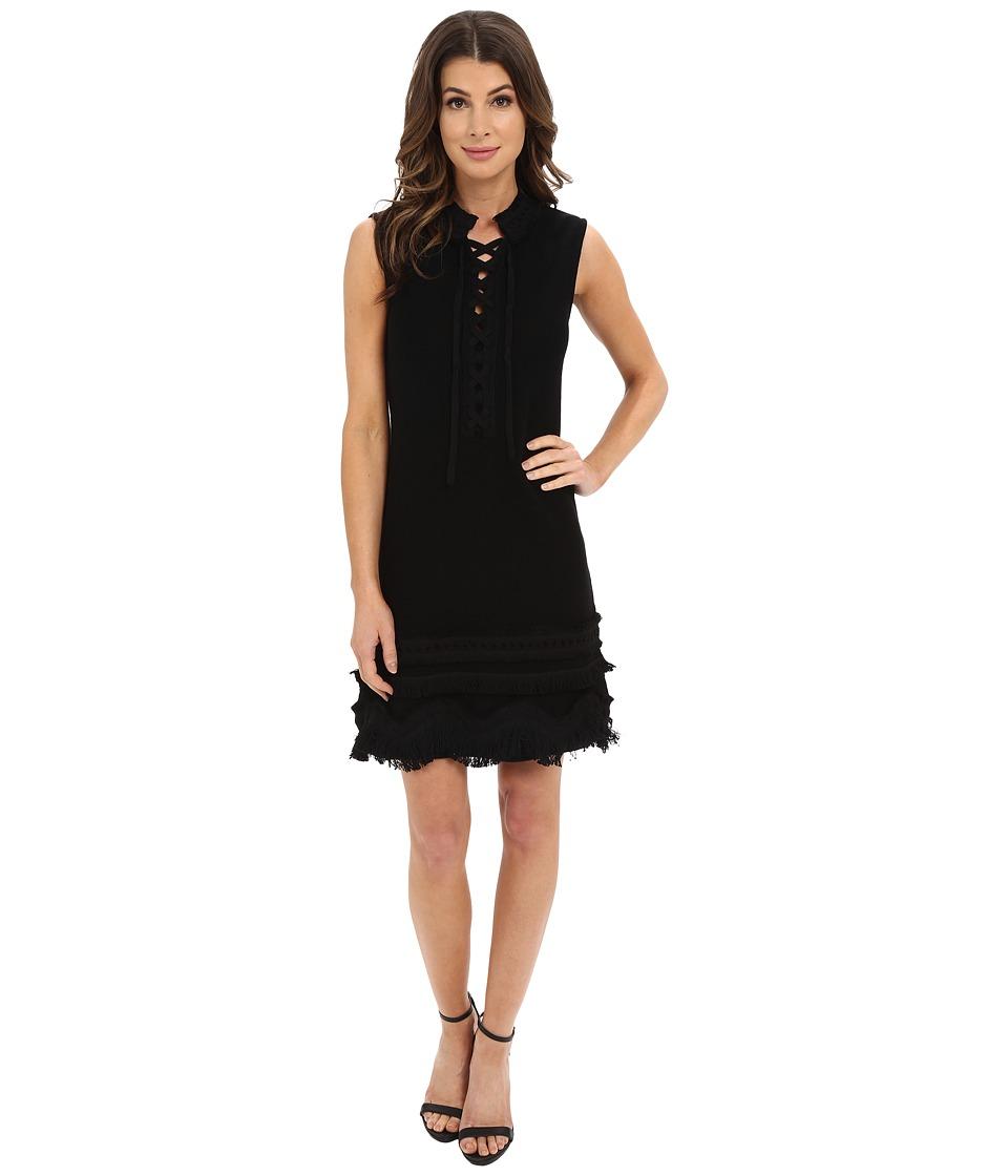 Nanette Lepore Sunset Dress Black Womens Dress