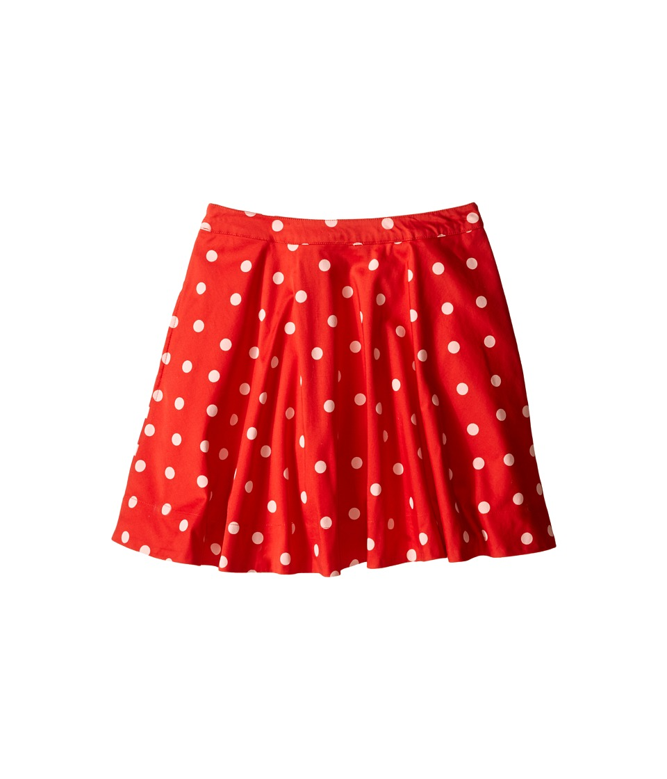 Kate Spade New York Kids Circle Skirt Big Kids fairytale Red Polka Dot Girls Skirt
