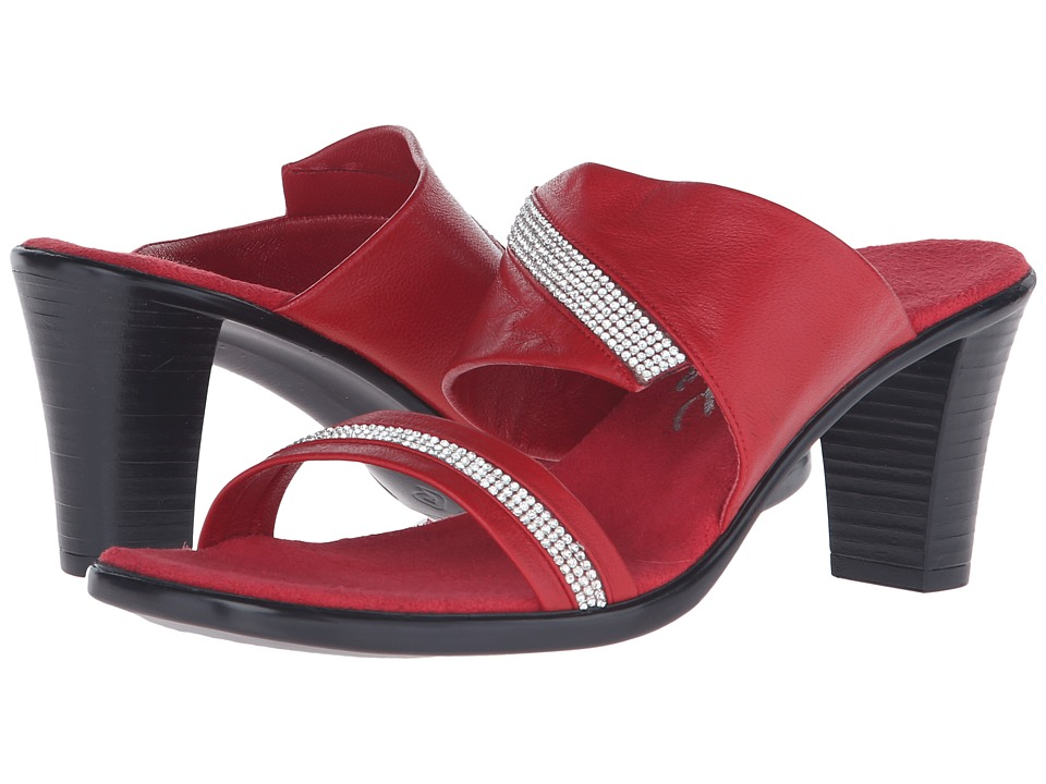 Onex Avery Red Womens Sandals