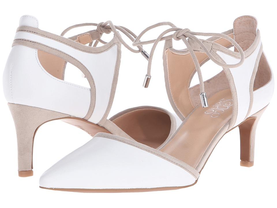 Franco Sarto Darlis White High Heels