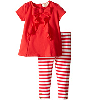 Kate Spade New York Kids - Short Sleeve Bow Tee and Leggings Set (Infant)
