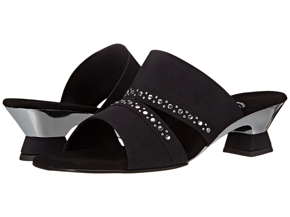 Onex - Letty (Black/Silver) Women's Sandals