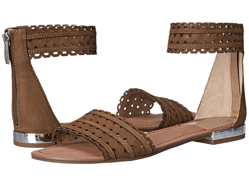 Franco Sarto Ara Desert Khaki Womens Sandals